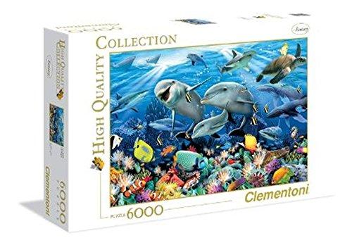 Clementoni 36521.0 - 6000 T Collection Howard Robinson, Unter Wasser, Klassische Puzzle