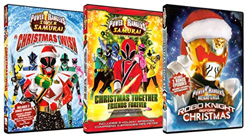 Power Rangers Weihnachtsset (A Christmas Wish / Christmas Together Friends Forever / Robo Knight Before Christmas)
