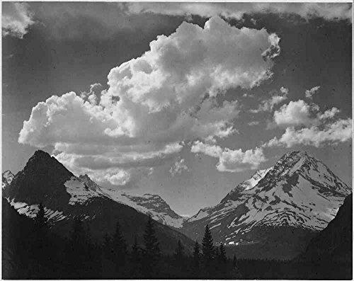 Das Museum Outlet-Adams-Glacier National Park Montana 6, gespannte Leinwand Galerie verpackt. 96,5x 121,9cm -