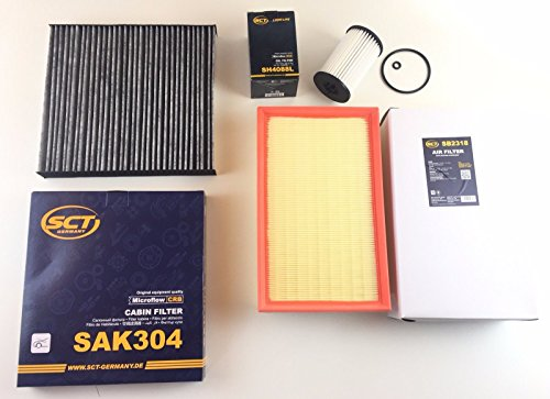 Preisvergleich Produktbild Ölfilter Luftfilter Aktivkohlefilter Golf 7 VII 1.6 TDI 2.0 TDI 2.0 GTD Diesel