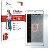 3x Vikuiti MySafeDisplay Protector de Pantalla DQCT130 de 3M para Sony Xperia SP LTE C5306