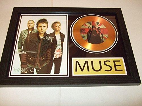 Muse firmado Oro disco