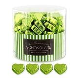 150 grüne Schokoladen Herzen Buenos Aires