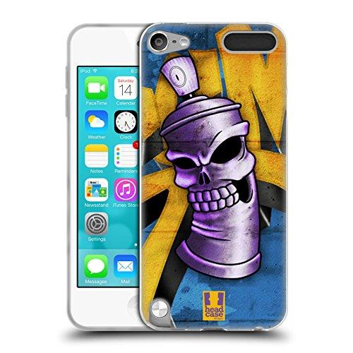 tenkopf Spraydose Monster Soft Gel Hülle für Apple iPod Touch 5G 5th Gen (5. Gen Ipod Touch-montage)