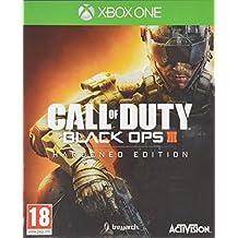 Activision Call of Duty: Black Ops III Hardened Edition, Xbox One Básica + DLC Xbox One Alemán vídeo - Juego (Xbox One, Xbox One, Acción, Modo multijugador, RP (Clasificación pendiente), Soporte físico)