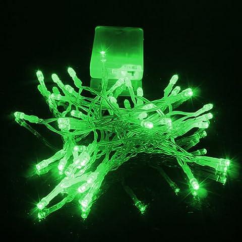 NEW Alimentazione AC/Solare/Batteria/20/50/100/200LED Fairy String Luce giardino lampada Xmas