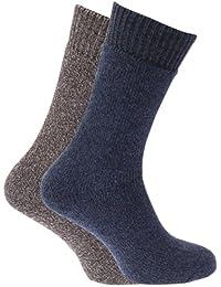 Herren Hohe Gewicht Boot-Socken mit Terry Polsterung (2Stück)