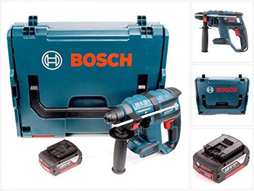 Bosch GBH 18 V-EC brushless Bohrhammer Professional SDS-Plus + 1 x GBA 5,0 Ah Akku in L-Boxx ohne Ladegerät