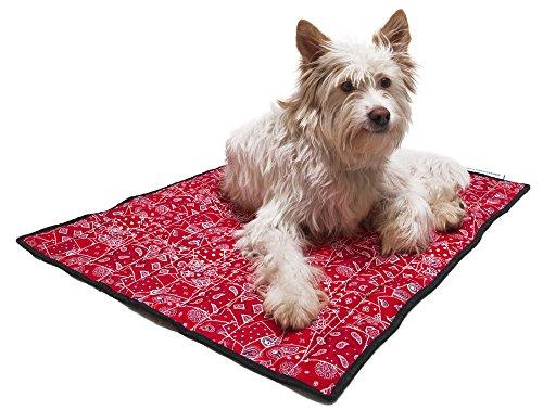 Aqua Coolkeeper Hunde Kühlmatte – Modell: Red Western (Gr. L 80x 60cm) - 4