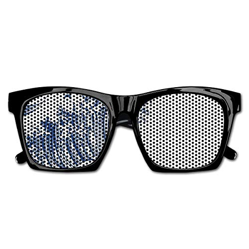 EELKKO Mesh Sunglasses Sports Polarized, Oriental Vintage Great Wave Monochrome Kanagawa Inspired Antique Art,Fun Props Party Favors Gift Unisex