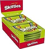 Skittles Crazy Sours Aspro-Afrutado dulces Pack de 14 x38g Bags (Pack de 14)