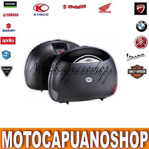 Par Alforjas Moto Rigide Maletas Laterales Kappa K40negras