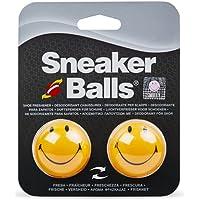 SOFSOLE Sof Sole SneakerBalls HappyFace Shoe Deo Deodorant, Giallo (Yellow), Taglia Unica