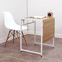 XIAOLIN Double Dining Table Klapptisch Modern Minimalist Retractable Tisch  Stahl Holz Small Apartment Esstisch Platzsparende Einfache
