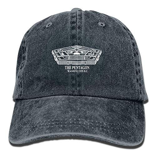 Preisvergleich Produktbild Presock Pentagon Washington D.C. Unisex Adult Adjustable Jeans Dad Hat