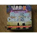 PLAY YOUR CARDS RIGHT. A Game based on the popular tv game show. 2004 EDITION.
