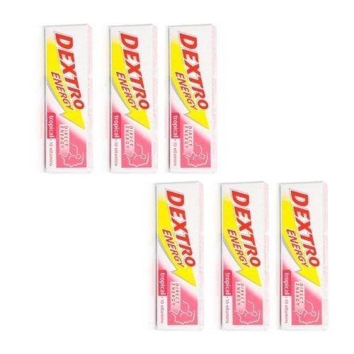 6 Packung x Dextro Energie Tropische (47g) - DEXTRO