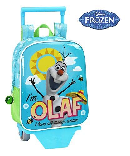 Disney Eingefroren-für die Pflege der Auto Rucksack, Position Olaf, 22x 27cm (SAFTA 611514280) (Eingefroren Kinder Auto)