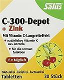 Salus C-300-Depot + Zink Tabletten, 1er Pack (1 x 28,5 g)