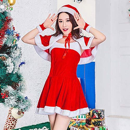 SPFAZJ Santa Anzug Kostüm Kostüm 2018 Weihnachten (s) -