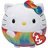 Beanie Ballz - Hello Kitty Rainbow - 8in/ 20cm - Plüsch - Ty zu führen