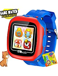 """AMENON Reloj Inteligente para Niños 1.5"""" Pantalla Táctil con Cámara 10 Juegos Podómetro Despertador Cronómetro Monitor de Salud Reloj de Pulsera Deportivo smartwatch para Niños Niñas Navidad Regalos"""