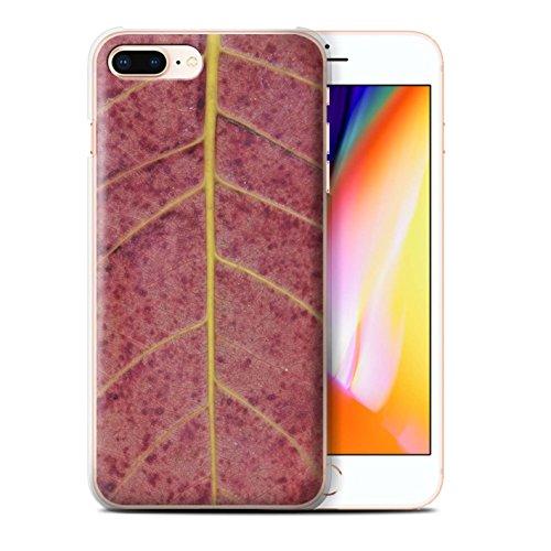 Stuff4 Hülle / Case für Apple iPhone 8 Plus / Pilze Muster / Pflanzen/Blätter Kollektion Herbst