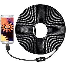 Volador 2 milioni di pixel periscopio del USB Camera, 2 Camera in1 HD 720P controllo dell'endoscopio per OTG Android Telefonia Informatica Compresse, macchina fotografica del serpente impermeabile con tubo di ispezione 10m