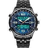 R-timer wasserdicht elektronische armbanduhren für männer,große zifferblatt sport-armbanduhr