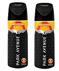 Park Avenue Mens Classic Deo Good Morning ,100gm (Pack of 2)