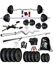 Bodyfit BF30KG COMBO 5ft Rod3ft Rod2 DRods Home Gym and Fit