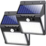 Solar Lights Outdoor, 50 LEDs Solar Well Lights Motion Sensor Waterproof for Garden Fence Yard Patio Pathway Driveway (2…
