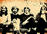 - Pink Floyd (David Gilmour, Roger Waters, Rich Wright And Nick Mason) Quadro Dipinto A Mano - Painting/Bild - (Formato 75 x 60 cm)