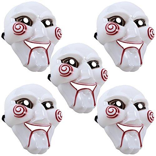 Plastik Maske Halloween Horror Faching Karneval Maske - -