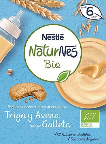 Nestlé Naturnes Bio - Papilla cereales Trigo Avena