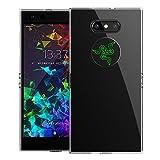DDJ Razer Phone 2 Hülle, Weiches Flexibles Transparent TPU Bumper Case Cover Schutzhülle Handyhülle für Razer Phone 2