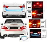 Typhon Flow Led Strip Trunk / Dicky / Boot / Tail Lights Streamer Brake Turn Signal Light For Ford Fiesta Old