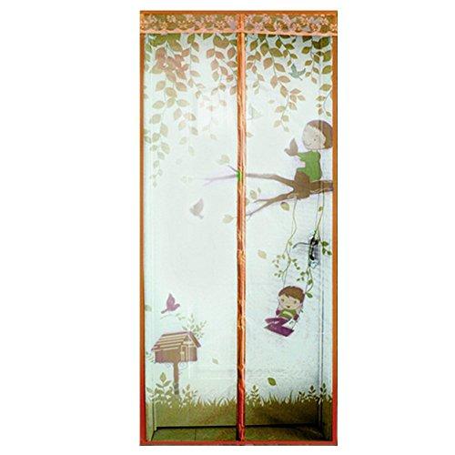 Tenda zanzariera magnetica per porta con calamita per porte impedendo agli insetti di entrare