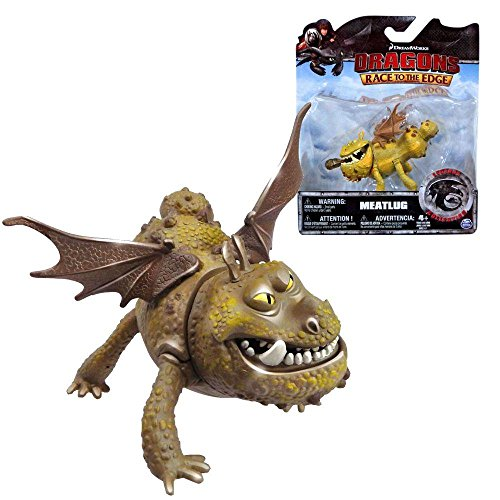Dragons - Action Spiel Set - Legends Collection Drachen Fleischklops Meatlug