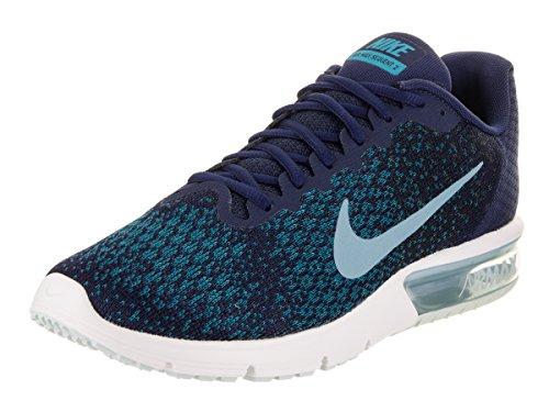 Nike Herren Air Max Sequent 2 Laufschuhe Blau (Binary Blue/Black/Blustery Cerulean)