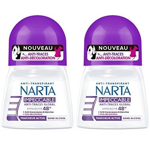 Narta Narta narta - frau deodorant anti-transpirant bille 48h effizienz impeccable - 50 ml - 2er-set