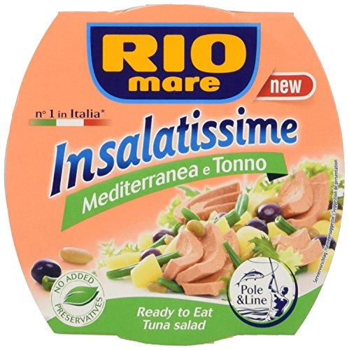Rio Mare Fertiggericht mit Gemüse und Thunfisch Olivenöl Extra Vergine, 1er Pack (1 x 1.44 kg)
