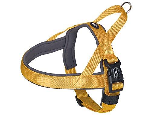 nobby-classic-preno-norvegese-harness-60-76-cm-46-cm-25-35-mm-arancione-grigio
