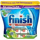 Terminer Quantum Powerball Lave-vaisselle comprimés Apple & Lime souffle (30) - Paquet de 6