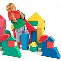 Edushape Giant Foam Blocks Construction Toy - 32 pcs