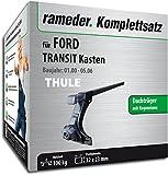 Rameder Komplettsatz, Dachträger SquareBar für Ford Transit Kasten (116151-04621-5)
