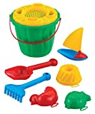 Sandset Kaya Segelboot Strandset Strandspielzeug Sandspielzeug Spielzeug Strand Kinderspielzeug Schaufel Sandkasten Sand Eimer Harke Förmchen Kinder