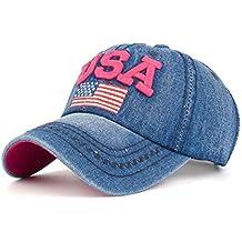 Rawdah Sombrero plano del hip hop del snapback de la gorra de béisbol de  los hombres 75b3629d62b