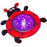 Einschlafhilfe Nachtlicht Marienkäfer mit tollem Licht-Spiel Projektionslampe für Kinder