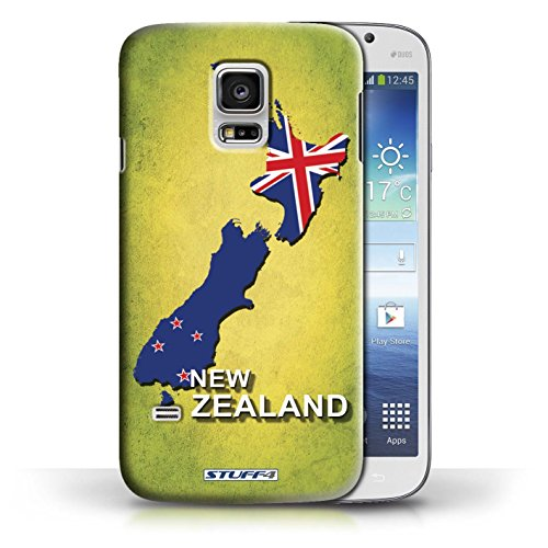 Kobalt® Imprimé Etui / Coque pour Samsung Galaxy S5 Mini / Australie conception / Série Drapeau Pays nouvelle Zélande